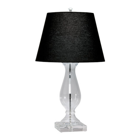 Lampe de table en verre Groton ,  , large