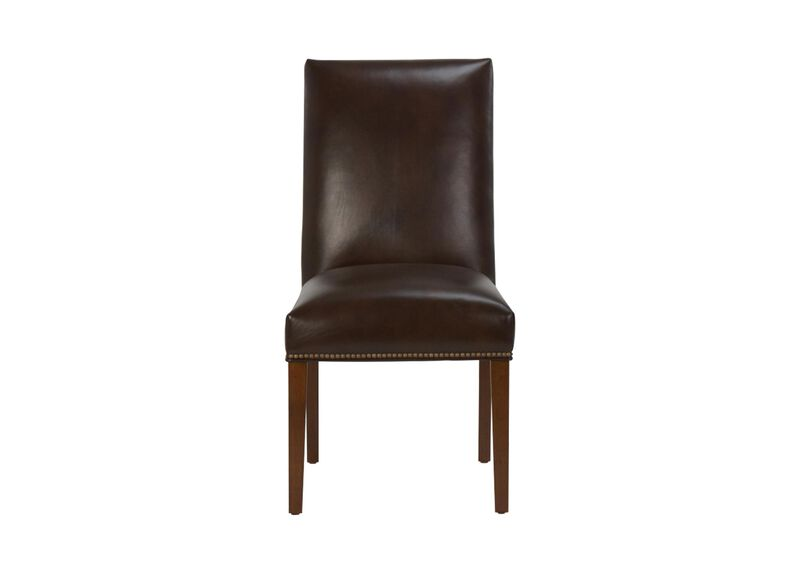 Thomas Leather Side Chair ,  , large_gray