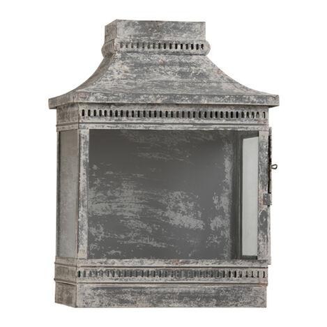 Galvanized Wash Wall Lantern ,  , large