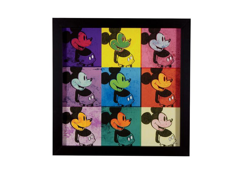 Pop Art Mickey Mouse ,  , large_gray