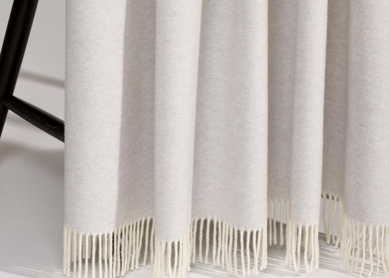 Merino Wool Throw, Mist Grey ,  , large_gray
