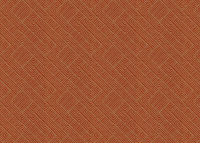 Hadi Tangerine Fabric by the Yard ,  , large_gray