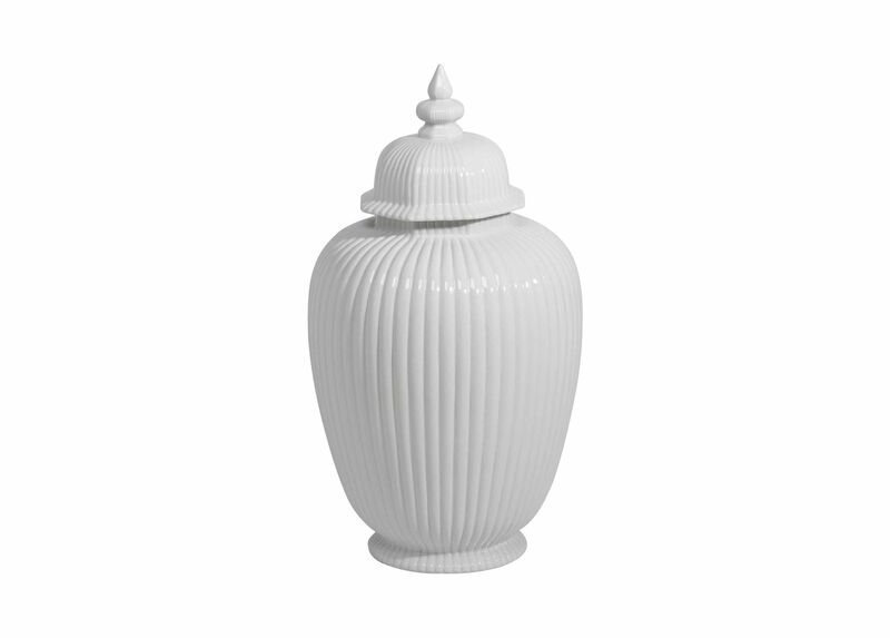 Large White Temple Jar ,  , large_gray
