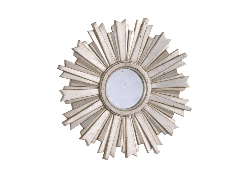Mini Silver Starburst Mirror ,  , large_gray