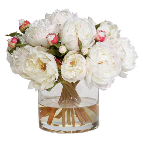 Small White Peony Watergarden ,  , large