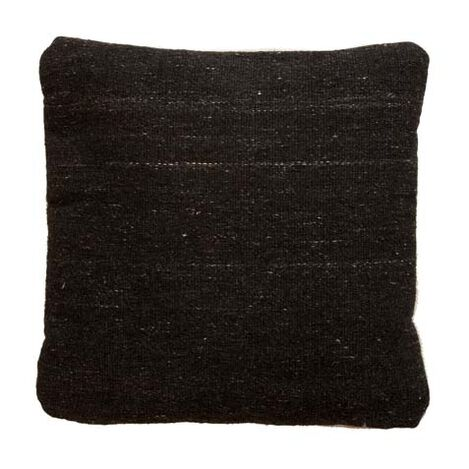 Charcoal Wool Pillow ,  , large