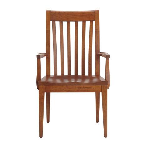 Fauteuil avec assise en bois Teagan ,  , large