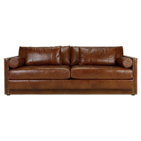 Abington Leather Sofa ,  , large