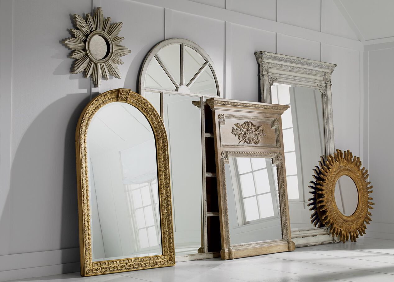 26 Quot Silver Sunburst Mirror Mirrors