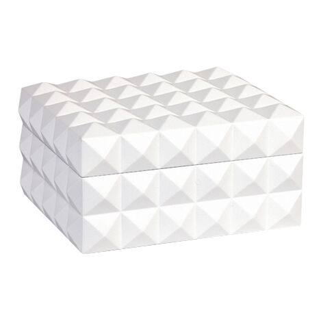 White Studded Box ,  , large