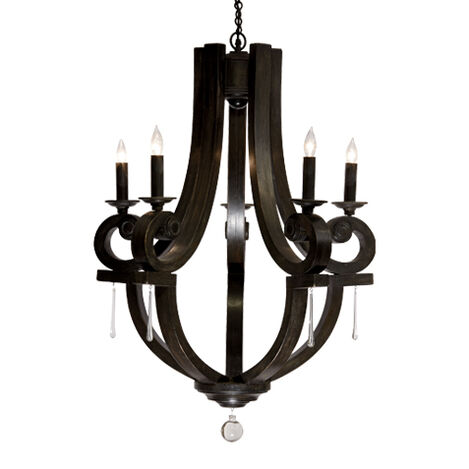 Black Lisi Chandelier ,  , large