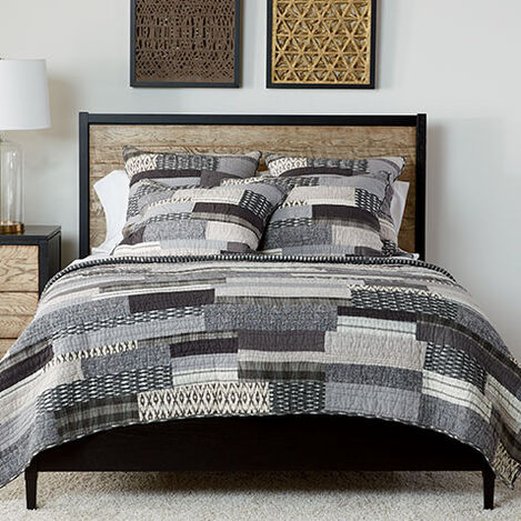Kennan Quilt and Shams ,  , large