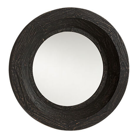 Antique Black Reclaimed Mirror ,  , large