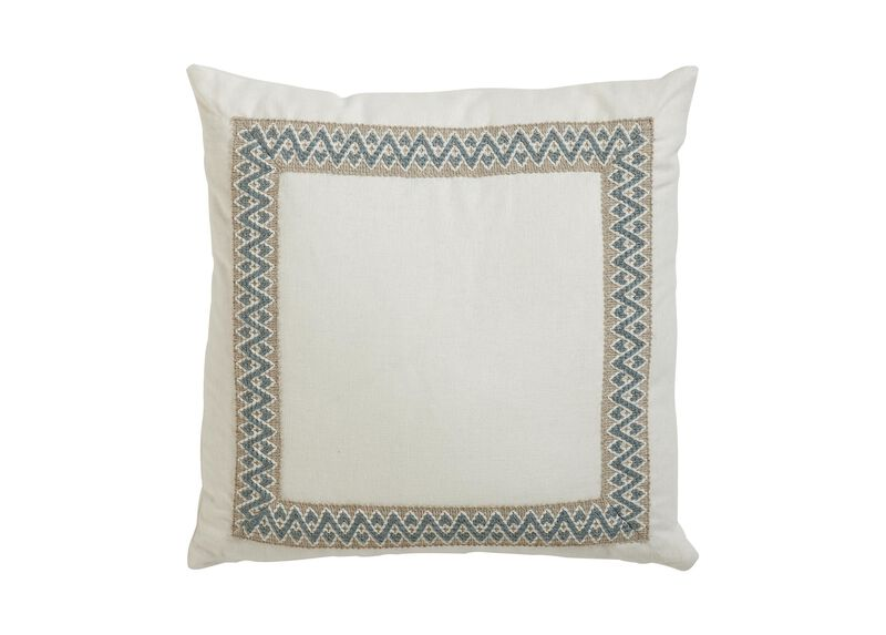 Framed Ivory Pillow ,  , large_gray