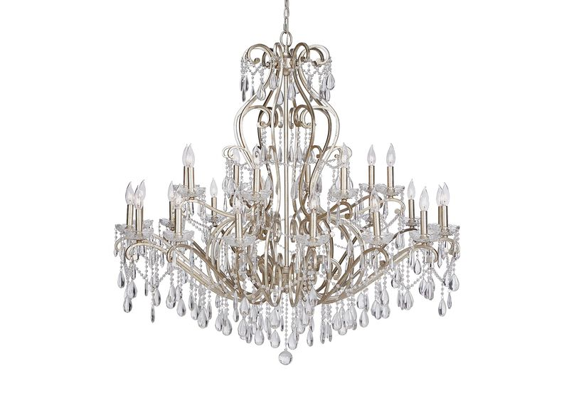 Whitney Champagne Grand Chandelier ,  , large_gray