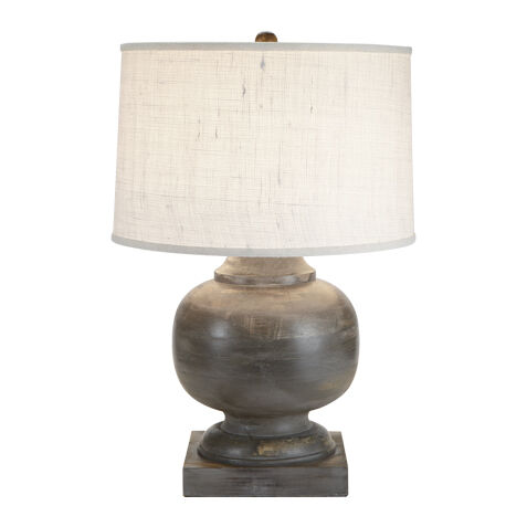 mulberry wooden table lamp large