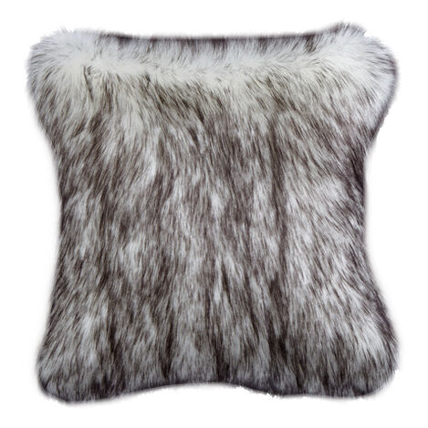 Norwegian Fox Faux Fur Pillow ,  , large