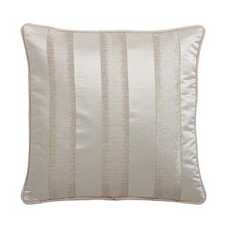 Champagne Striped Pillow ,  , large