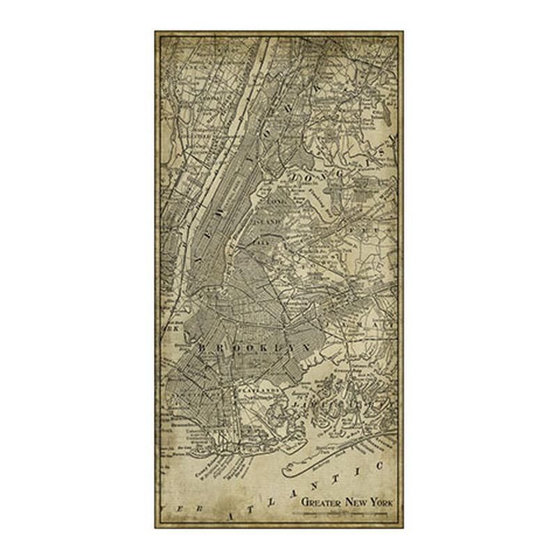 NYC Map I Vintage ,  , large