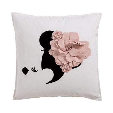 Floral Flourish Pillow, Petal ,  , large