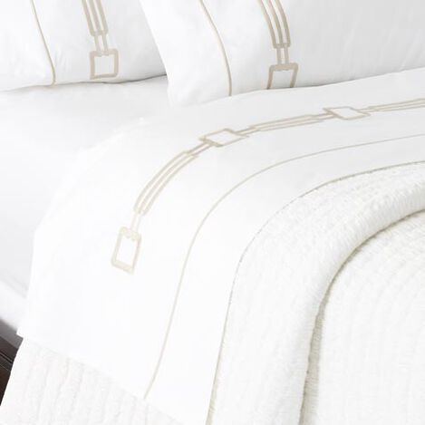 Camdyn Fitted Sheets, White ,  , large
