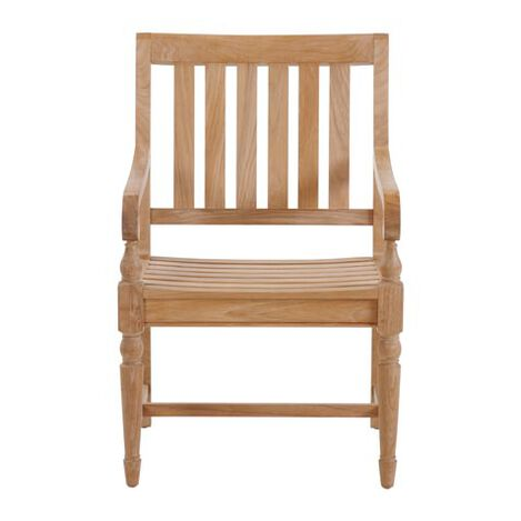 Millbrook Wood-Seat Armchair ,  , large