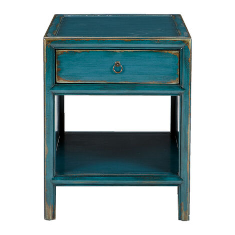 dynasty end table large - Decorative Tables