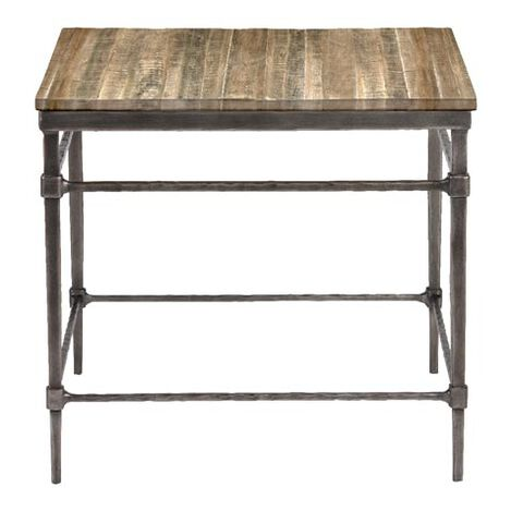 Vida Wood-Top End Table ,  , large