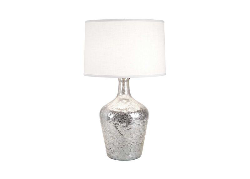 Small Silver Ice Plum Jar Lamp ,  , large_gray