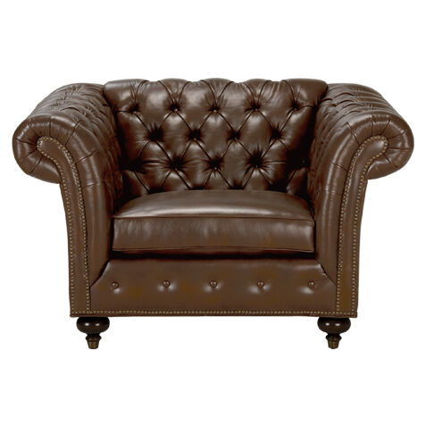 ... Leather Living Room Chairs
