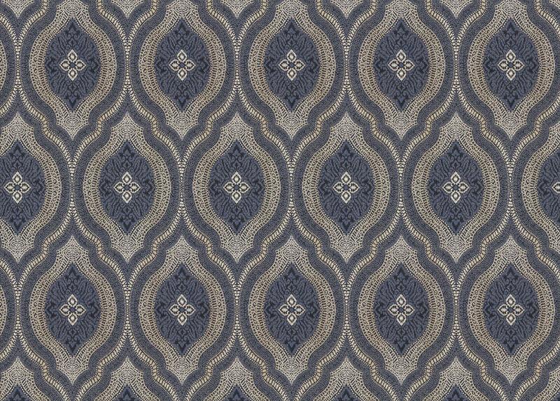 Deandra Indigo Fabric by the Yard ,  , large_gray