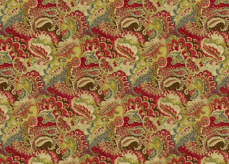 Jasmin Red Fabric by the Yard ,  , large_gray