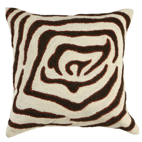 Modern Abstract Zebra Pillow ,  , large