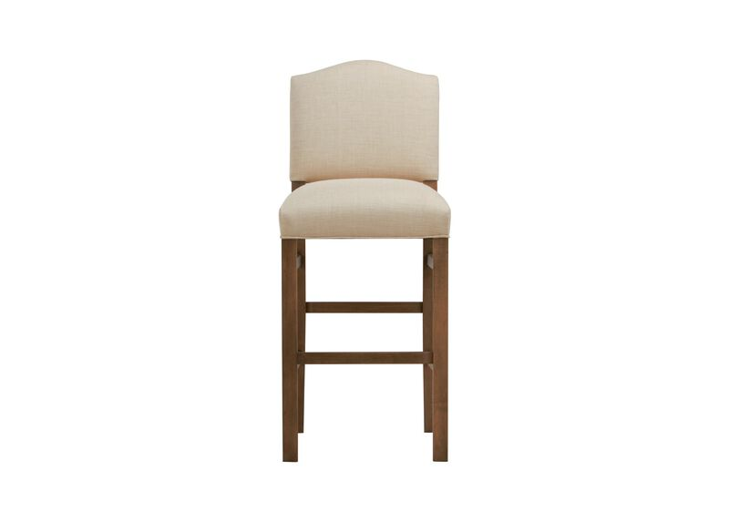 Hadley Barstool, Arched Top and Square Leg ,  , large_gray