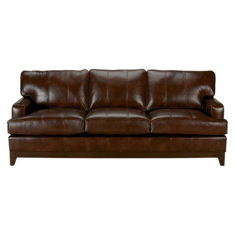 Arcata Leather Sofa, Quick Ship ,  , large