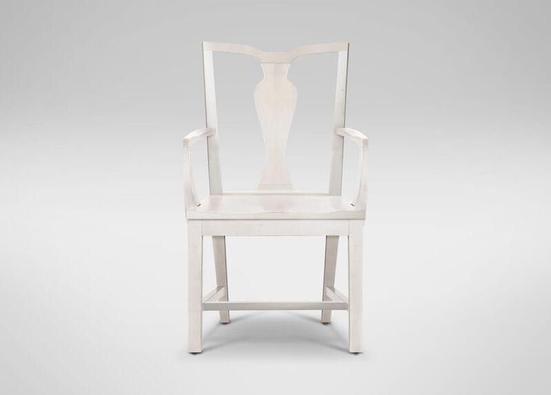 Maddox Wood-Seat Armchair ,  , large_gray