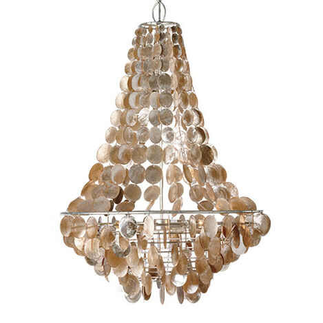 Capiz Chandelier ,  , large