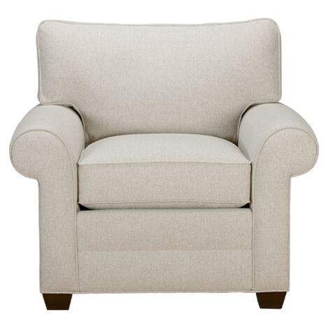 Bennett Roll-Arm Chair, Quick Ship. LIVING ROOM ... - Shop Living Room Chairs & Chaise Chairs Accent Chairs Ethan Allen