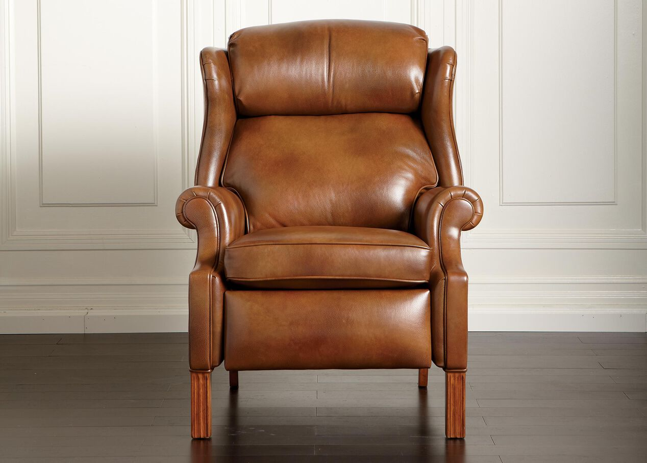 Townsend Leather Recliner - Ethan Allen