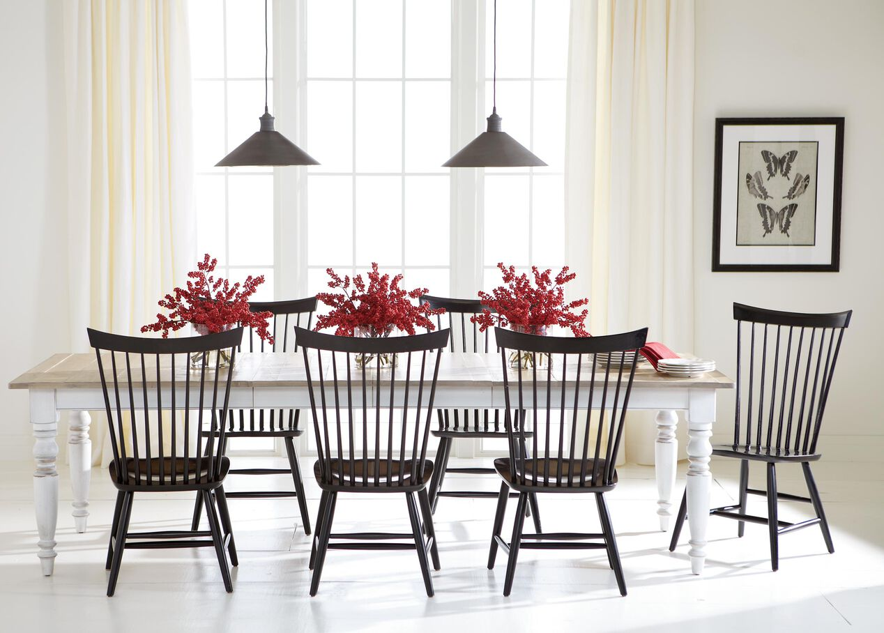 Ethan allen dining room furniture - Miller Rustic Dining Table Alt