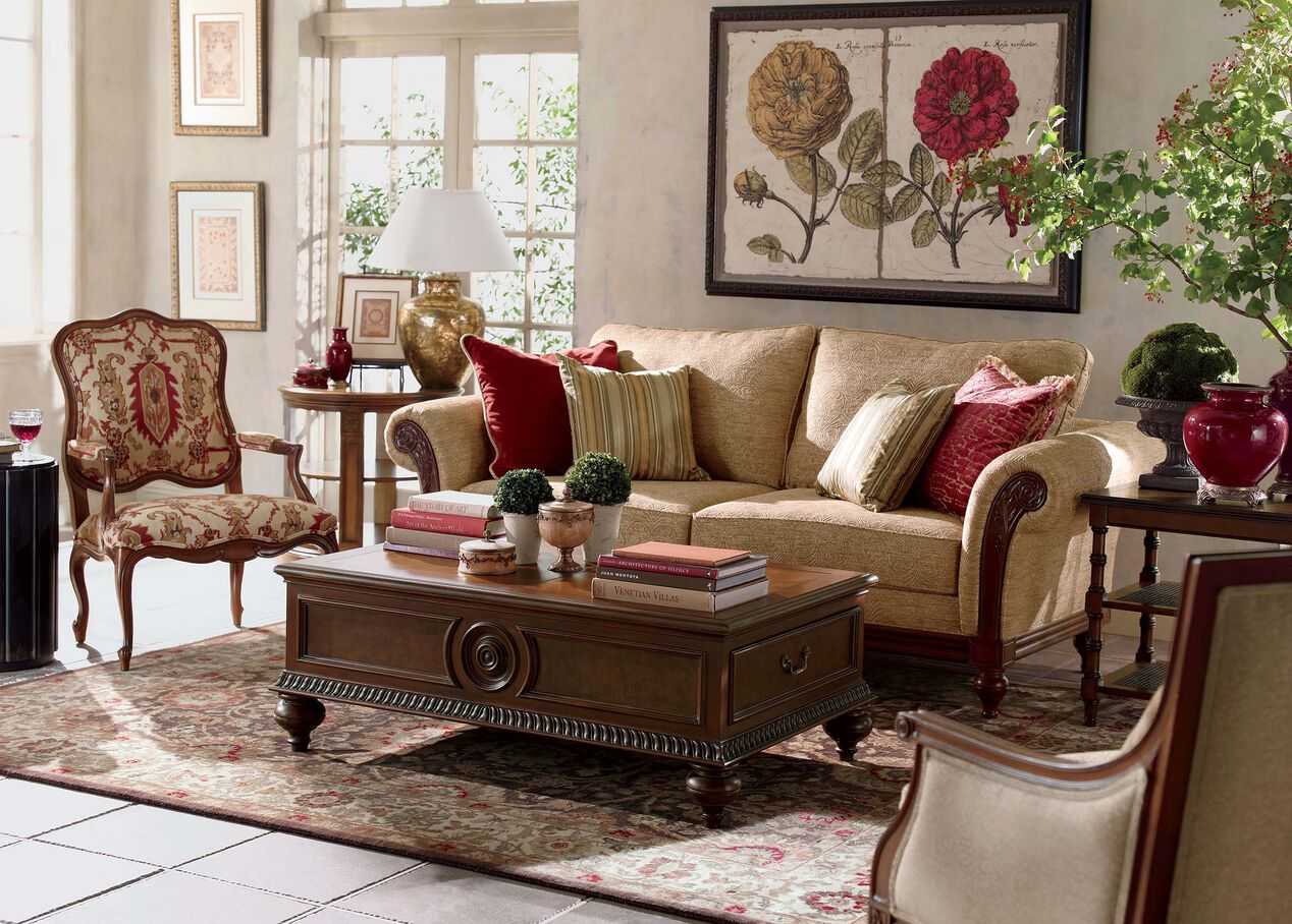 Ethan Allen Living Room Coffee Tables