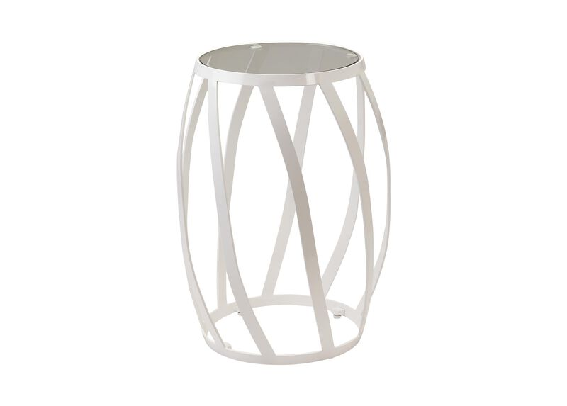 White Twist Table ,  , large_gray