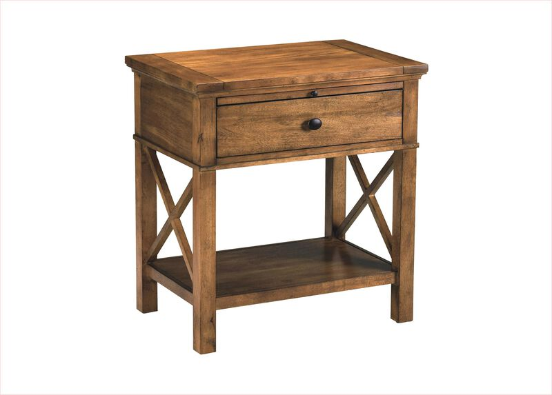 Alec night table night tables for Ethan allen bedroom night stands