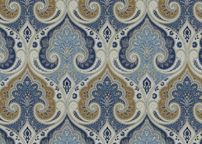 Anjali Blue Fabric by the Yard ,  , large_gray