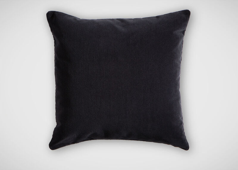 Charcoal Mohair Pillow ,  , large_gray