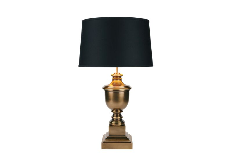 Otis Small Brass Table Lamp ,  , large_gray