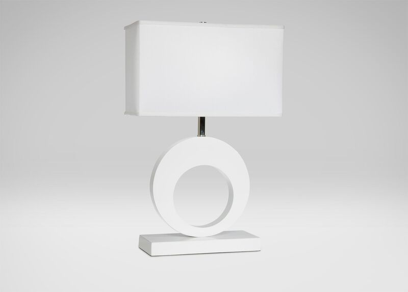 Charley White Table Lamp ,  , large_gray