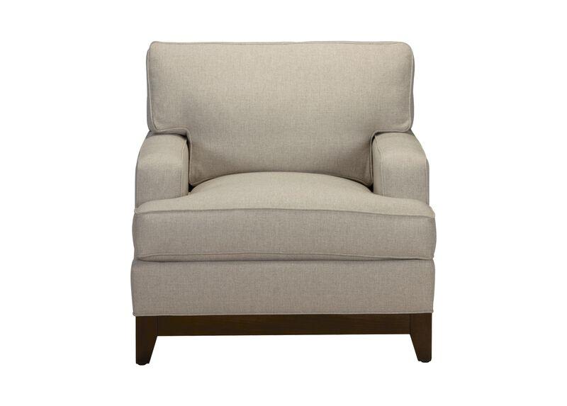 Arcata Chair, Quick Ship , Palmer Pearl (Q3039), chenille , large_gray
