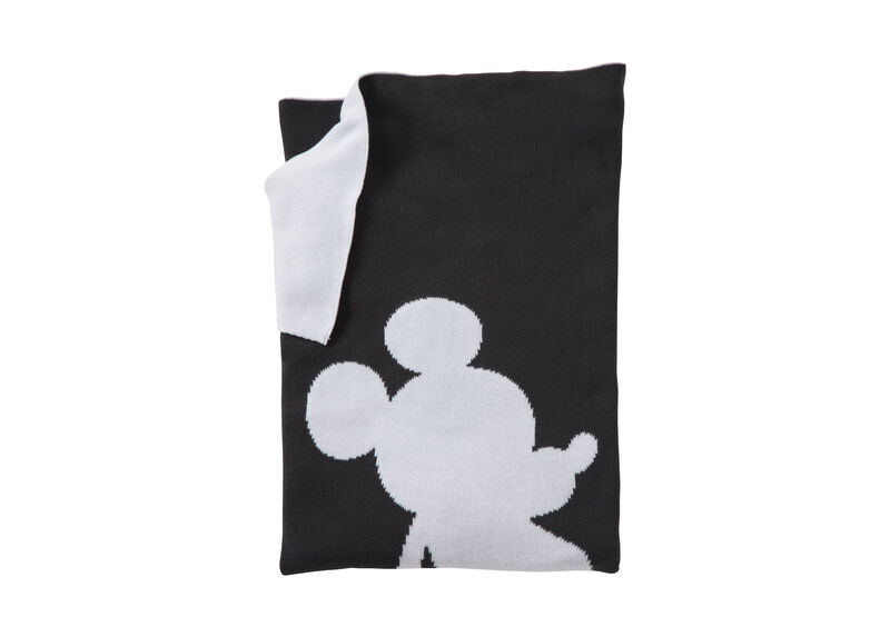 Mr. Mouse Stroller Blanket, Mickey's Ears ,  , large_gray