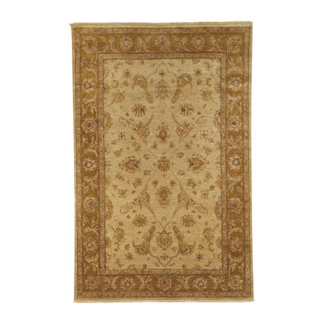 Kerman Rug, Light Gold/Medium Gold ,  , large